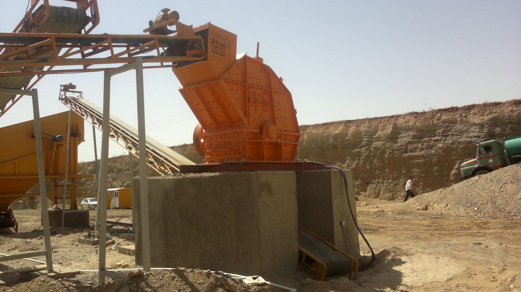 سنگ شکن کوبیت ۱۸۰ تنی